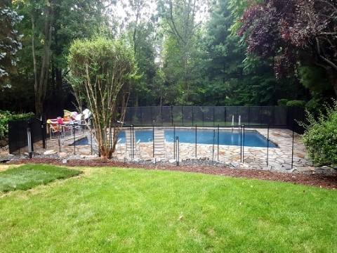 Alpine NJ pool fence installations