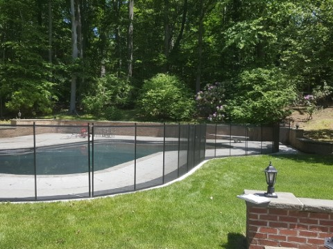 Pool Fence Installed in Ridgewood, New Jersey
