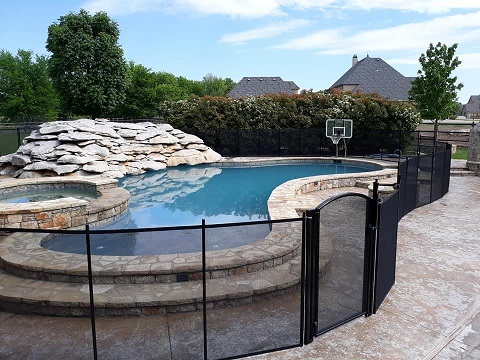 Life Saver Pool Fence installed in Warren County, NJ