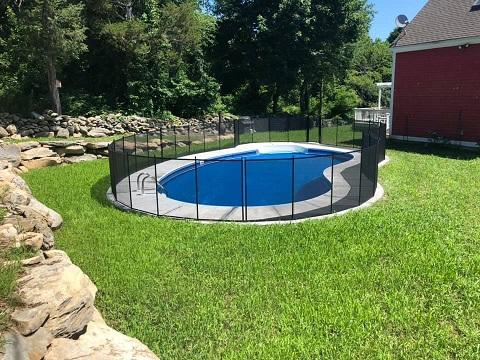 pool fence Warren County, NJ
