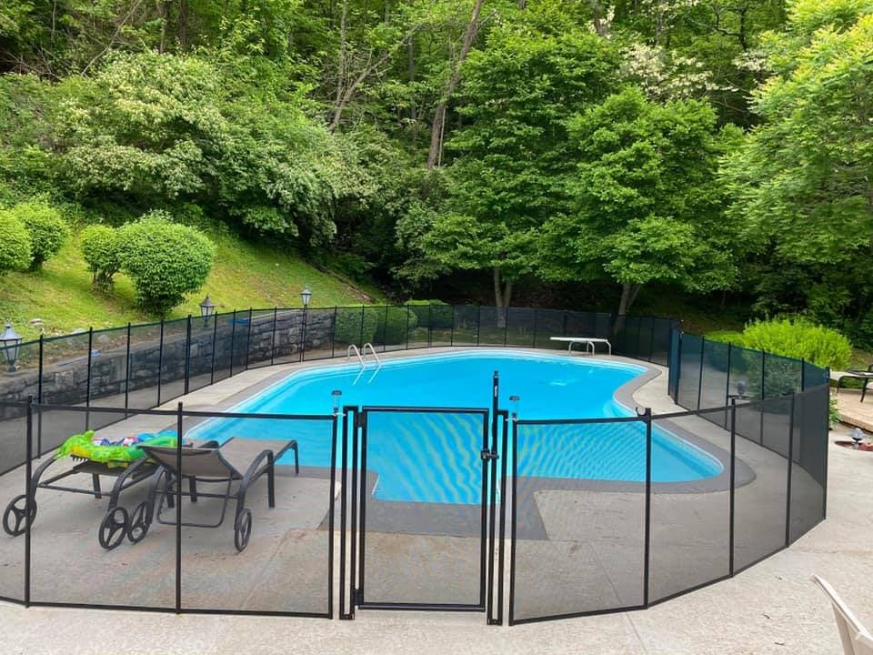 pool fence installations in Wayne Township