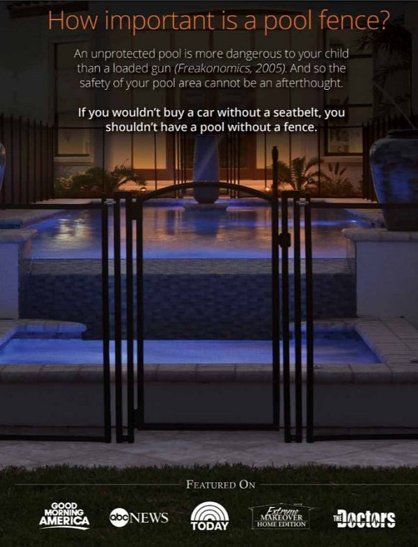 Life Saver Pool Fence North New Jersey - Pool Fence Brochure